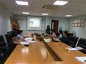 Hội đồng đạo đức - Viện Thực phẩm chức năng họp  phê duyệt đề cương ngày 24/10/2019