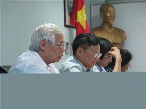Hội đồng đạo đức họp phê duyệt đề cương đánh giá hiệu quả của TPBVSK VB trên người