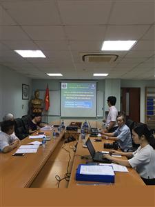 Hội đồng đạo đức họp nghiệm thu đề tài nghiên cứu đánh giá hiệu quả của sản phẩm VB trên người