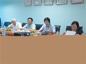 Hội đồng đạo đức - Viện Thực phẩm chức năng họp nghiệm thu đề tài Nghiên cứu đánh giá hiệu quả của sản phẩm NTP trên người