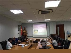Hội đồng đạo đức - Viện Thực phẩm chức năng họp nghiệm thu đề tài ngày 09/07/2020