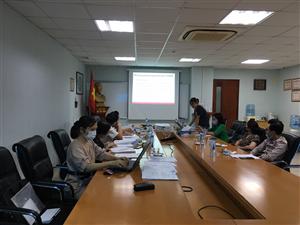 Hội đồng đạo đức - Viện Thực phẩm chức năng họp nghiệm thu đề tài ngày 04/05/2021