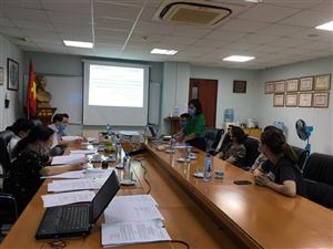 Hội đồng đạo đức - Viện Thực phẩm chức năng họp phê duyệt đề cương nghiên cứu ngày 04/05/2021