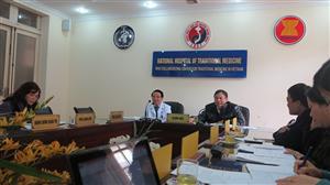 Hợp tác với Bệnh viện trong hoạt động đánh giá hiệu quả TPCN