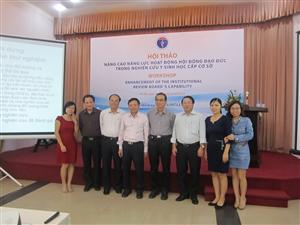 Hội đồng đạo đức Viện TPCN tham gia Hội thảo GCP