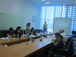 Hội đồng đạo đức Viện Thực phẩm chức năng họp phê duyệt đề cương nghiên cứu đánh giá hiệu quả ngày 1.7.15