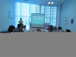 Hội đồng đạo đức Viện TPCN họp nghiệm thu đề tài đánh giá hiệu quả của Nga phụ khang ngày 14.6.16